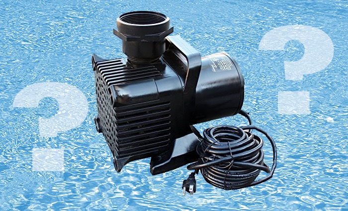 Which pond water pumps to choose