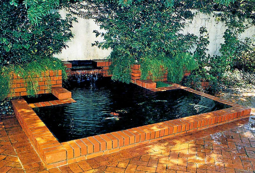 Pond with Planters