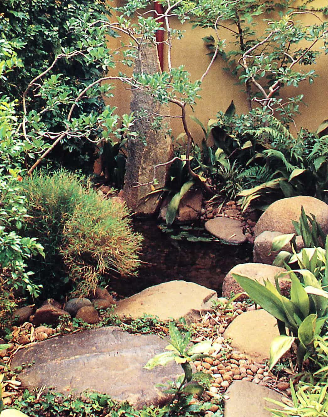 18 Small rock pond - Quantifying the Cost of Your Pond