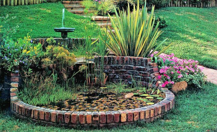 Two tier Fountain for your garden pond